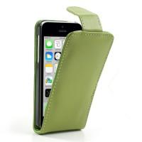 Groene flipcase met magnetische sluiting voor iPhone 5C